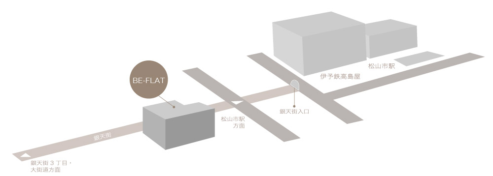 BE-FLAT地図